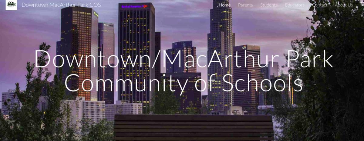 Downtown MacArthur Park Community of Schools