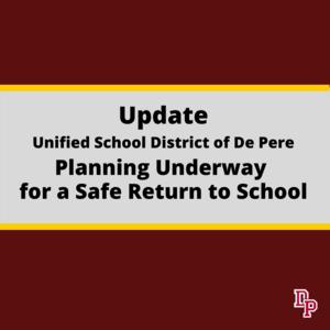 Return to school notice