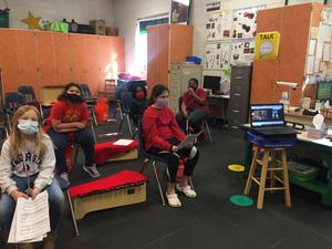 Sterling Elementary students will participate in an upcoming Virtual Elementary Honor Chorus with 100 other students in Georgia.