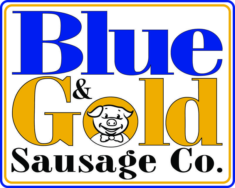 Blue and Gold Sausage Featured Photo