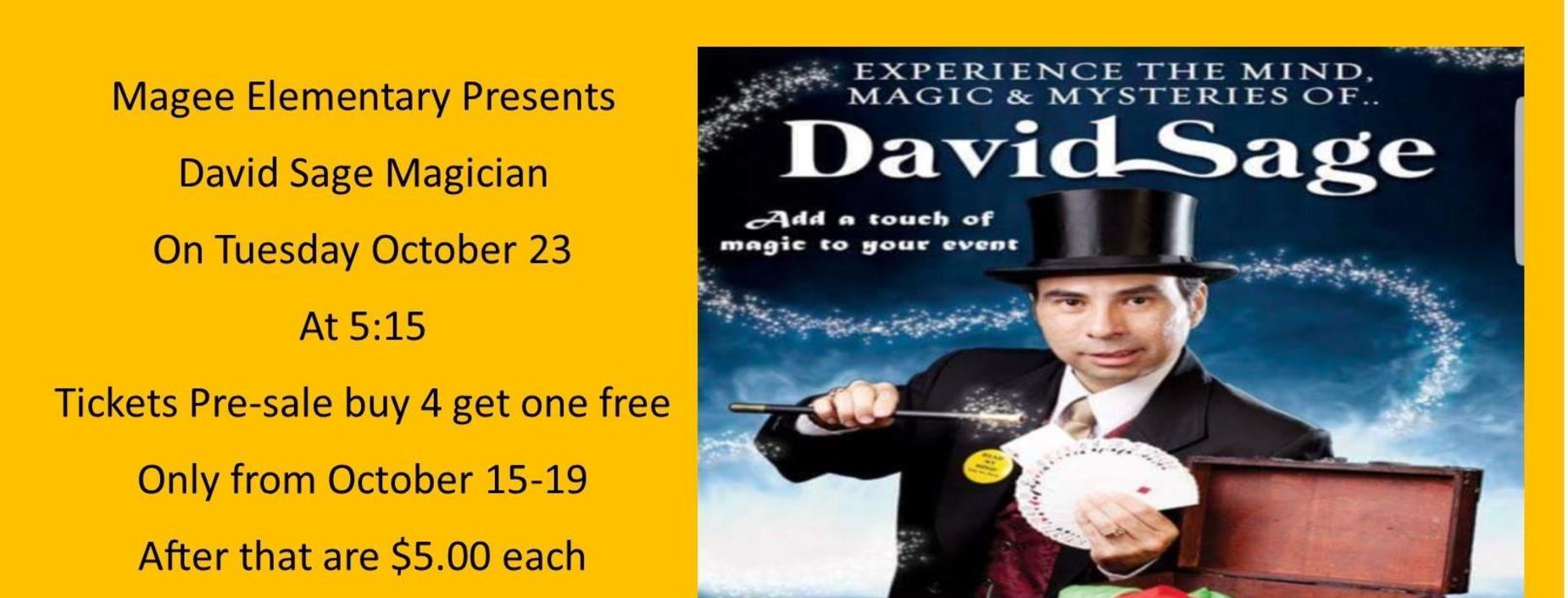 david sage magician