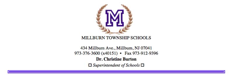 superintendent's letterhead