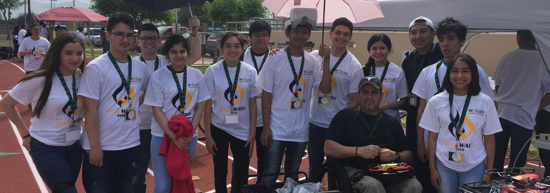 Lamar Academy Robotics Team at TechWars