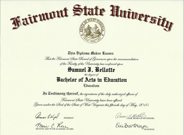 Bachelor of Arts in Education