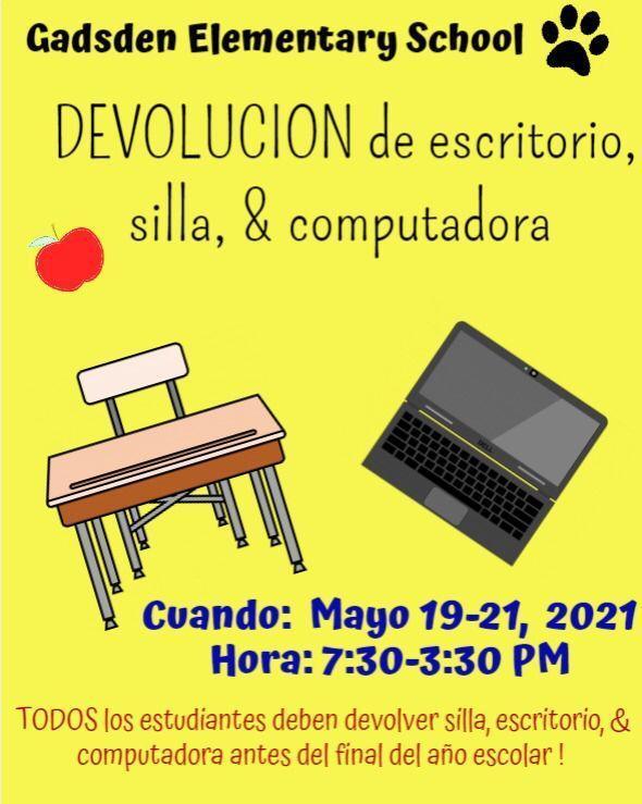 Chromebook, Desk and Chair Return  Spanish.jpg