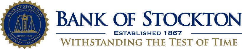 Bank of Stockton Logo