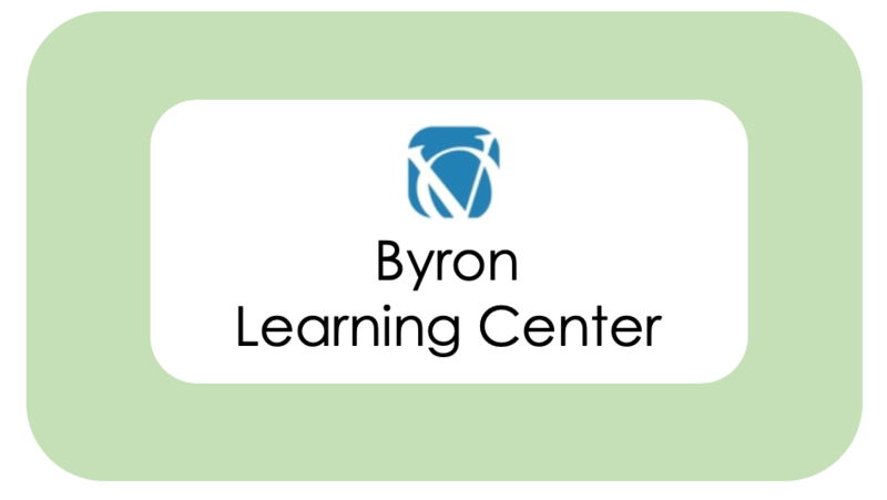 Byron Learning Center's latest information available here. Featured Photo