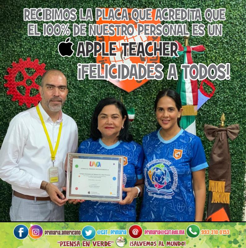 100% Apple Teachers Featured Photo