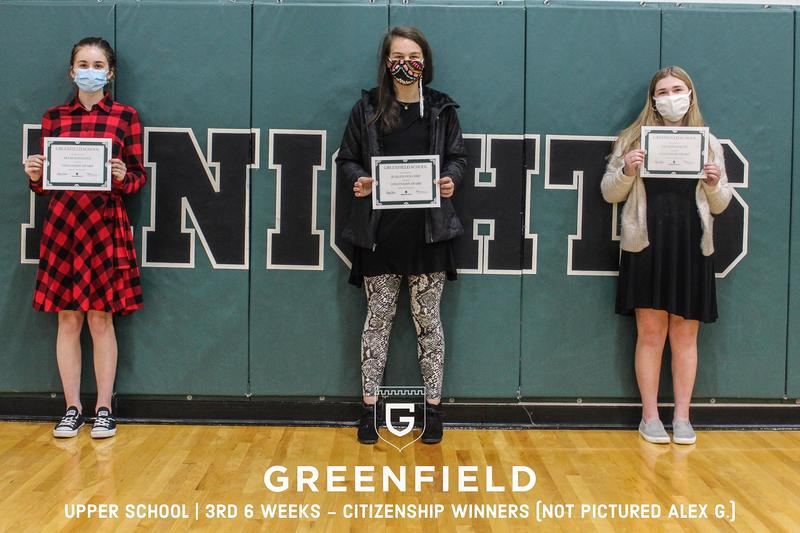 Middle & Upper School   3rd 6-Weeks Academic Awards Featured Photo
