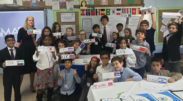Middle School Student Chairs Elementary MUN Featured Photo