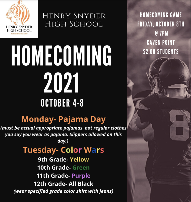 2021 Henry Snyder High School Home Coming Featured Photo