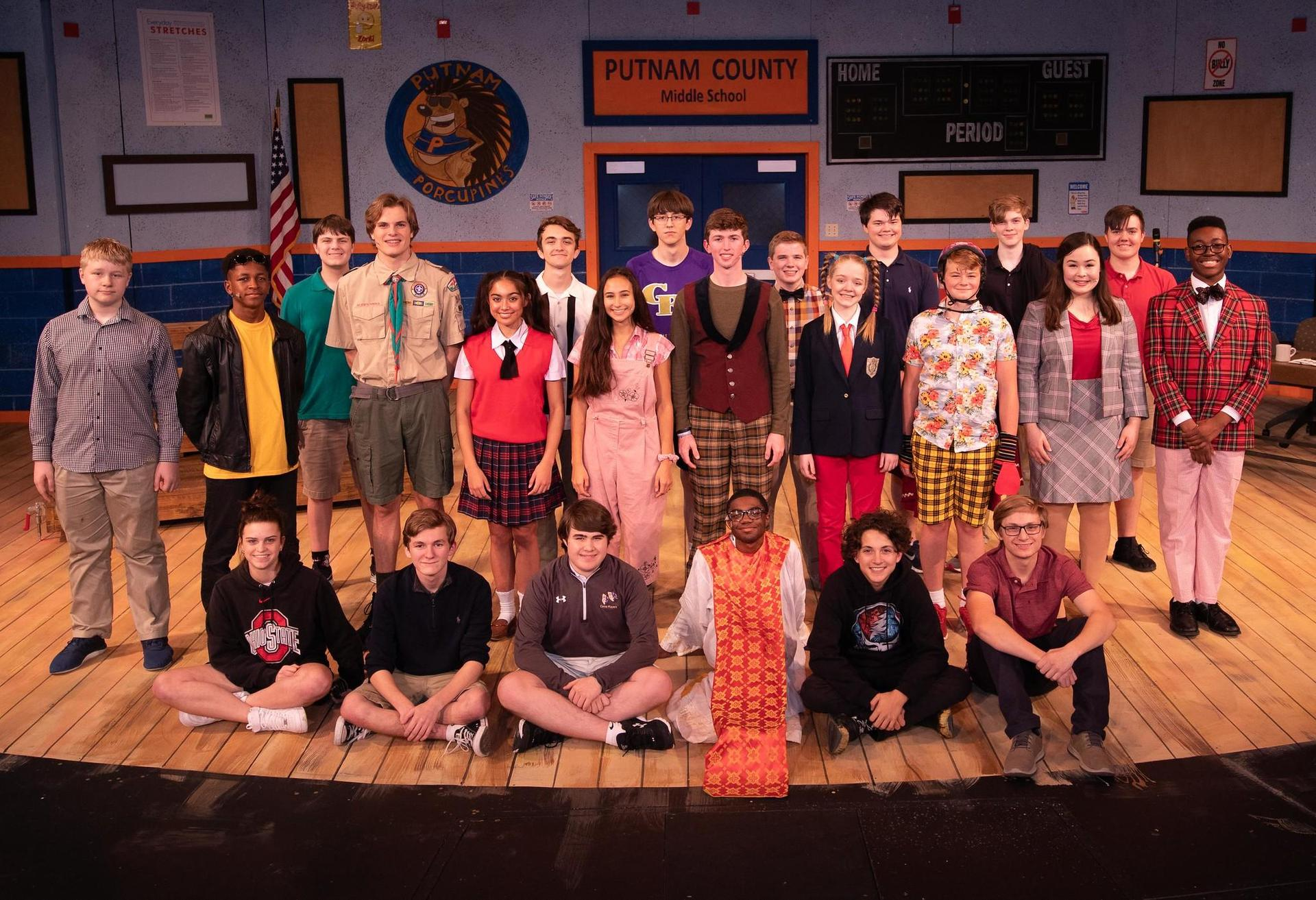 Putnam County Spelling Bee cast