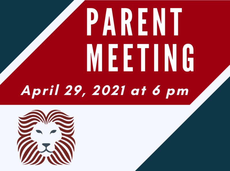 NEW DATE: April 29 Spring Parent/Guardian Meeting + Raffle Featured Photo