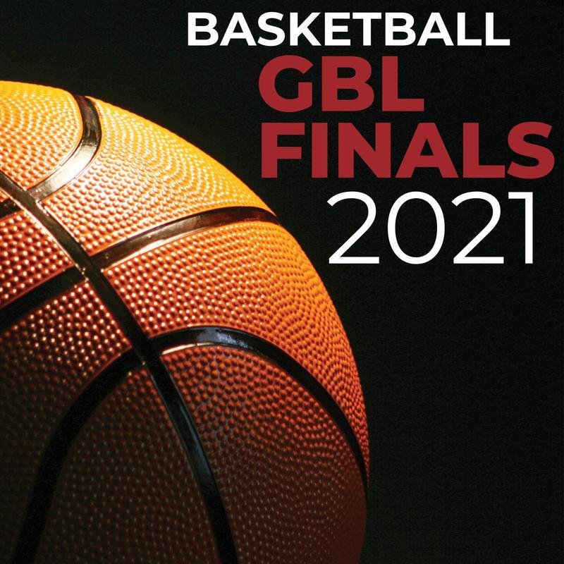 A basketball against a black backdrop