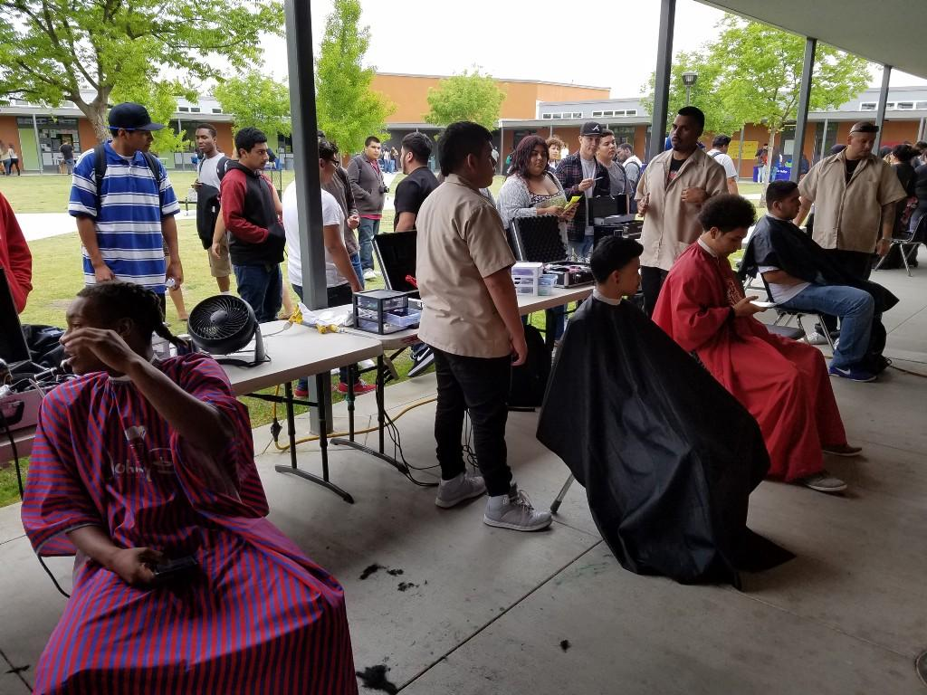 Barber College TDS career fair