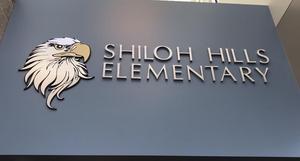 Shiloh Hills Eagle signage