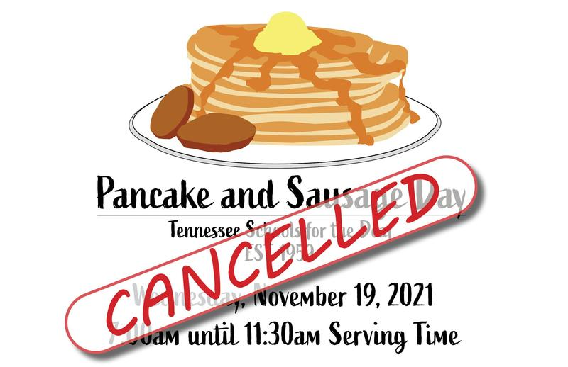Pancake and Sausage Day Cancelled