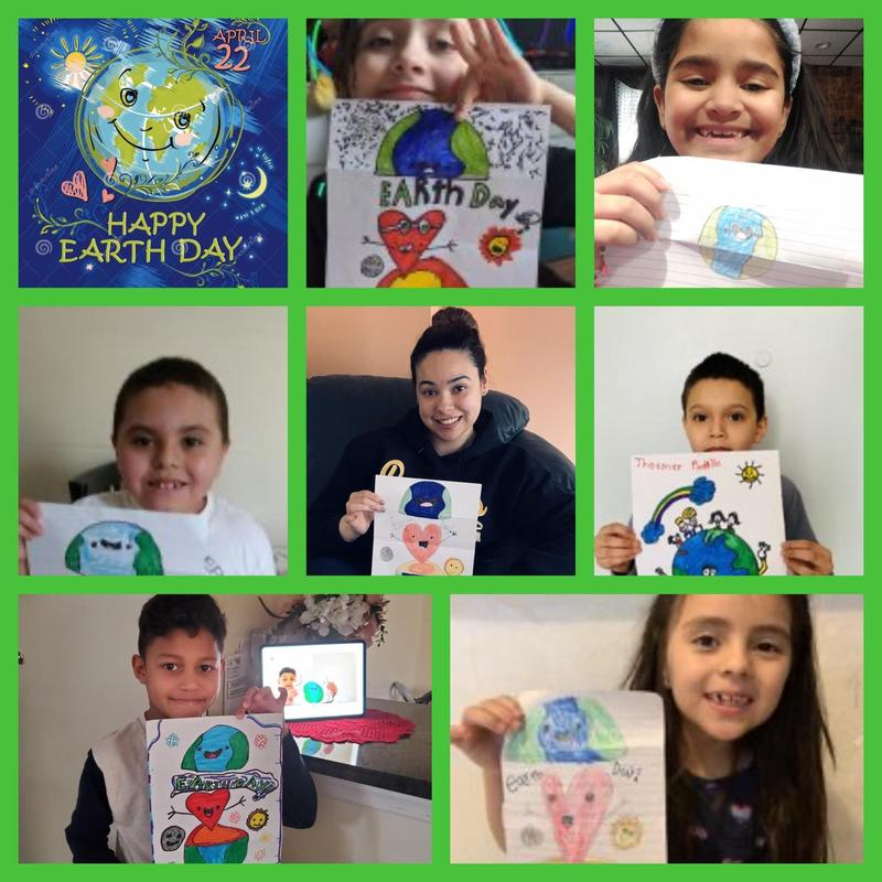 Ms. Orta Celebrates Earth Day