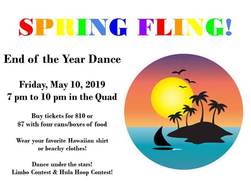 SPRING FLING END OF YEAR DANCE AT KVHS! Thumbnail Image
