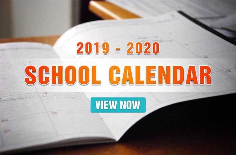 Mark Your 2019-2020 Calendar