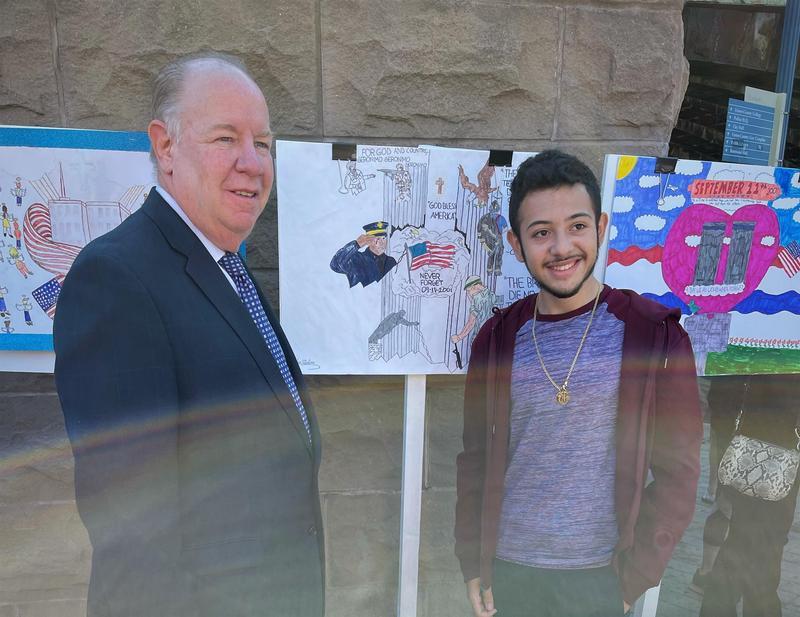 9/11 Art Contest Winner Featured Photo