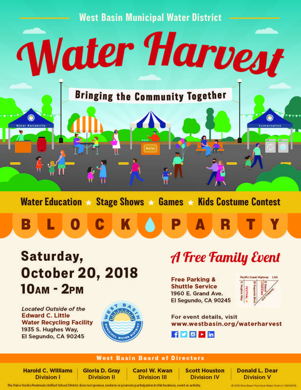 Water Harvest Flyer