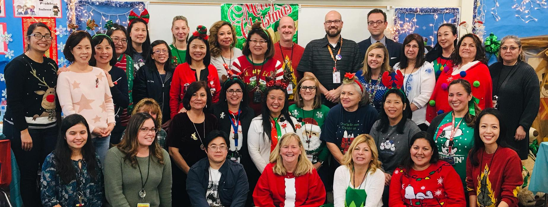 Northrup Staff and Faculty during the Holidays