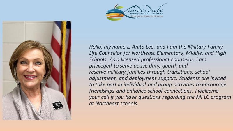 Anita Lee, NEE Military & Family Life Counselor