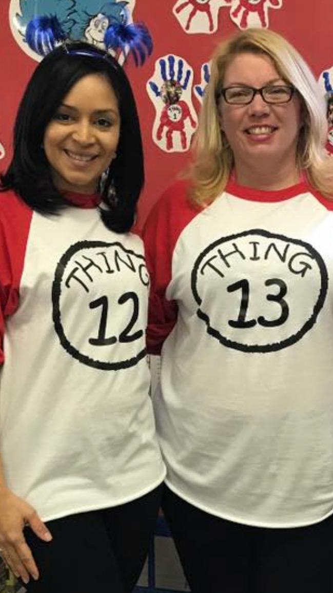 Teachers Mrs Haag and mrs farrington