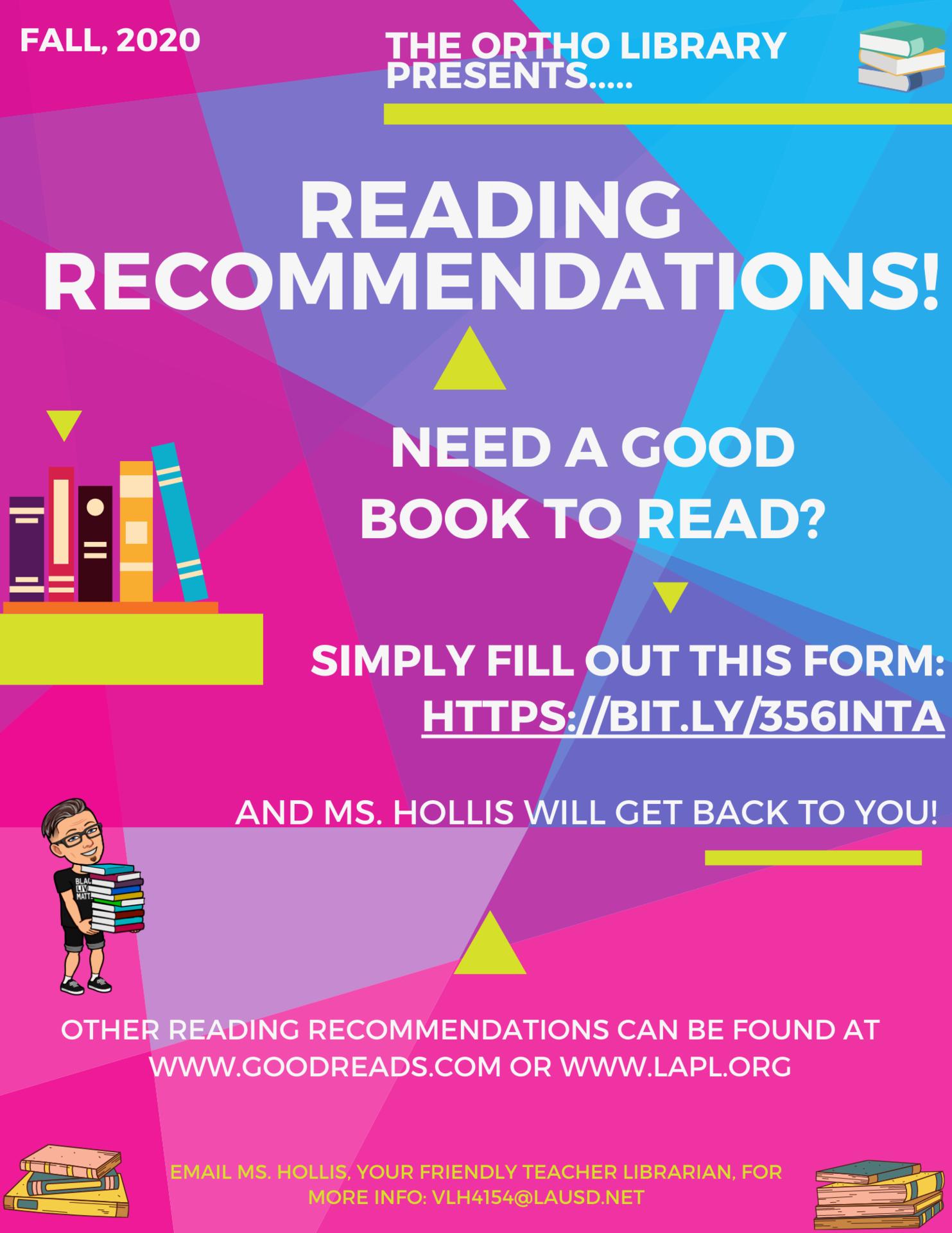 Reading Recs