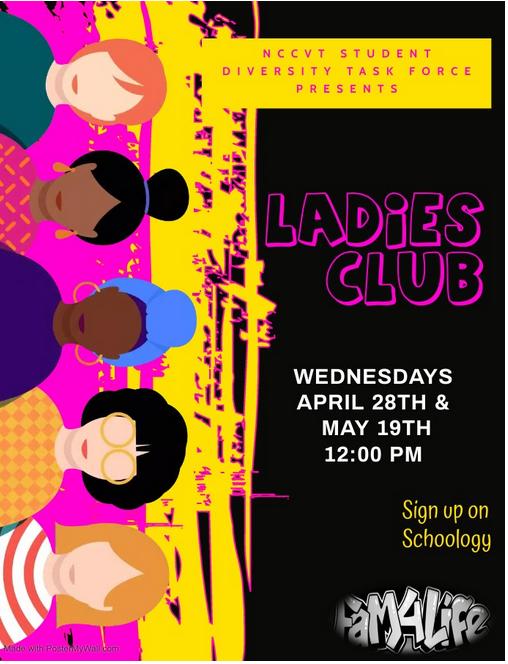 Ladies Club Flyer