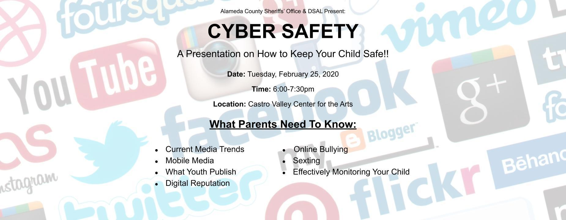 Cyber Safety Flyer