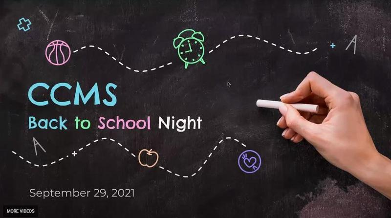 Back to School Night Session Recording now available Thumbnail Image