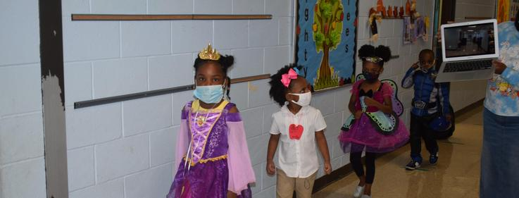 Kennedy Early Childhood Center Trick or Treat 2020