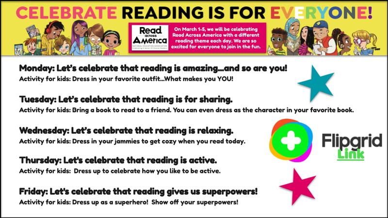 Reading Week Flyer