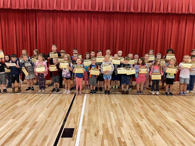 Picture of August & September 2021 Students of the Month at TPES