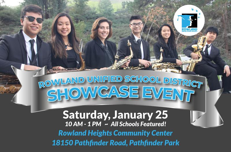Community Invited to RUSD SHOWCASE EVENT Saturday, January 25 Thumbnail Image