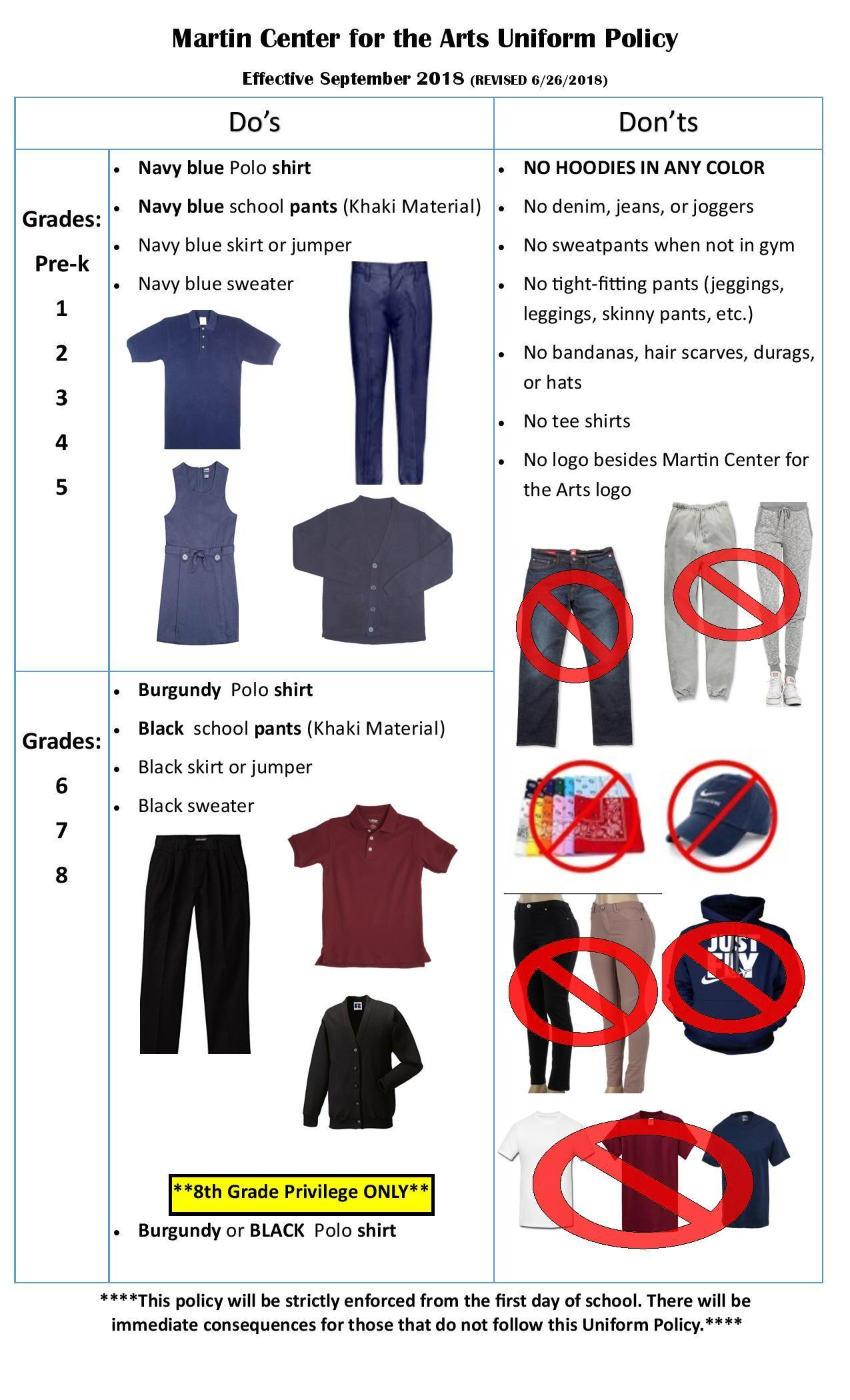 Picture of uniform Policy