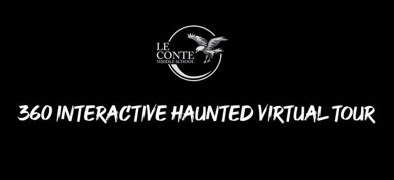 Le Conte Middle School 360 Interactive Haunted Virtual Tour Featured Photo