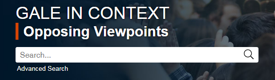 Link to Opposing Viewpoints