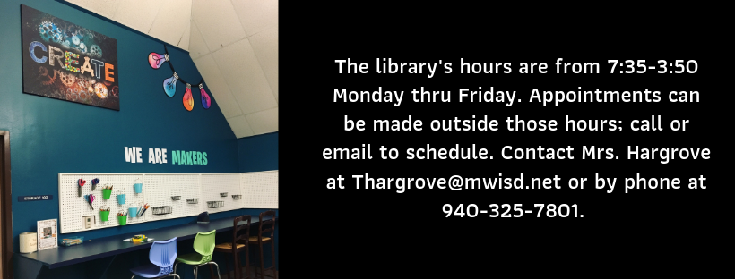 Library hours and contact info
