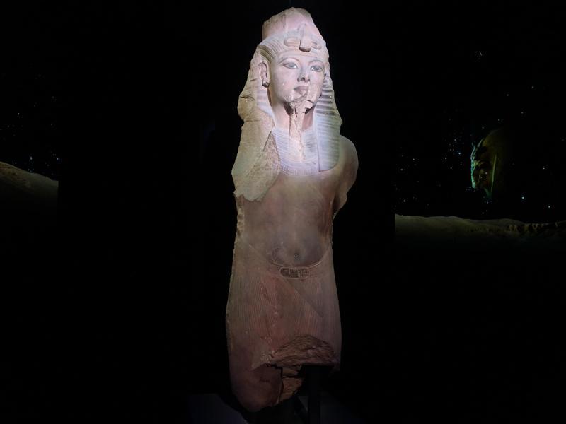 King Tutankhamun Exhibition. Thumbnail Image