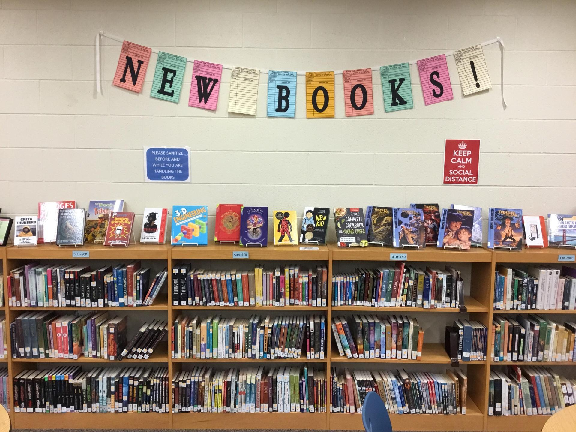 New book display