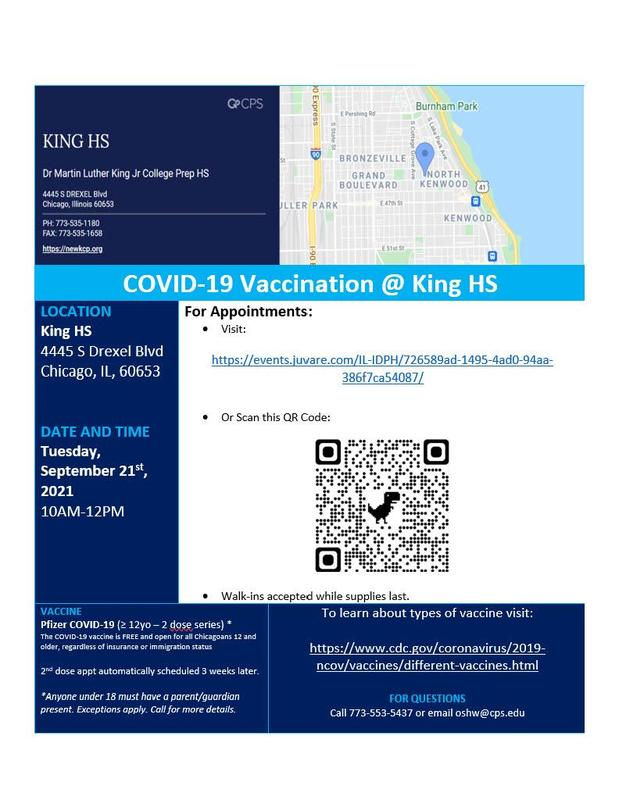 COVID Vaccine Available