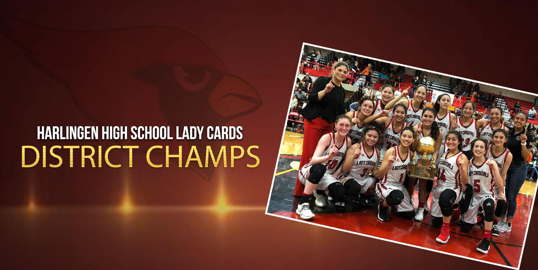 Lady Cards District Champs