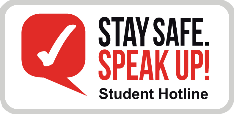 Stay Safe. Speak Up! logo