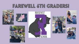 Farewell 6th graders collage