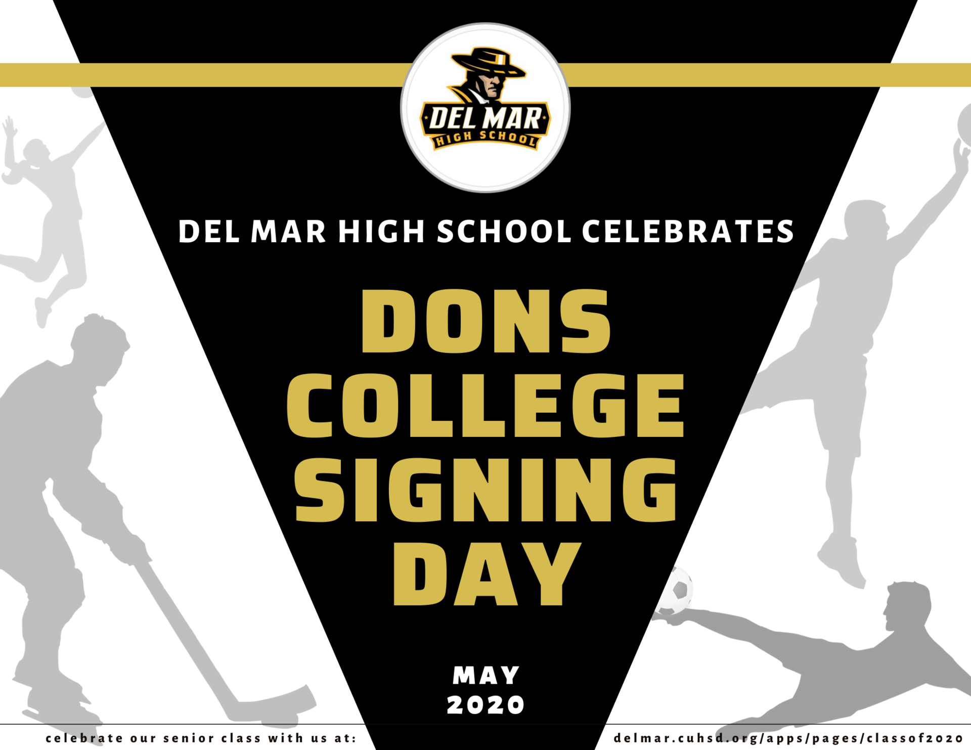 image of college signing day flyer