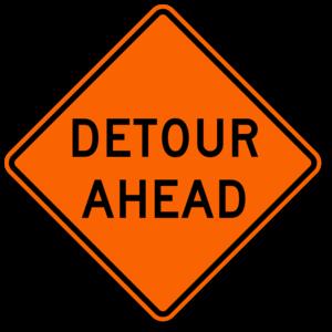 bus detour