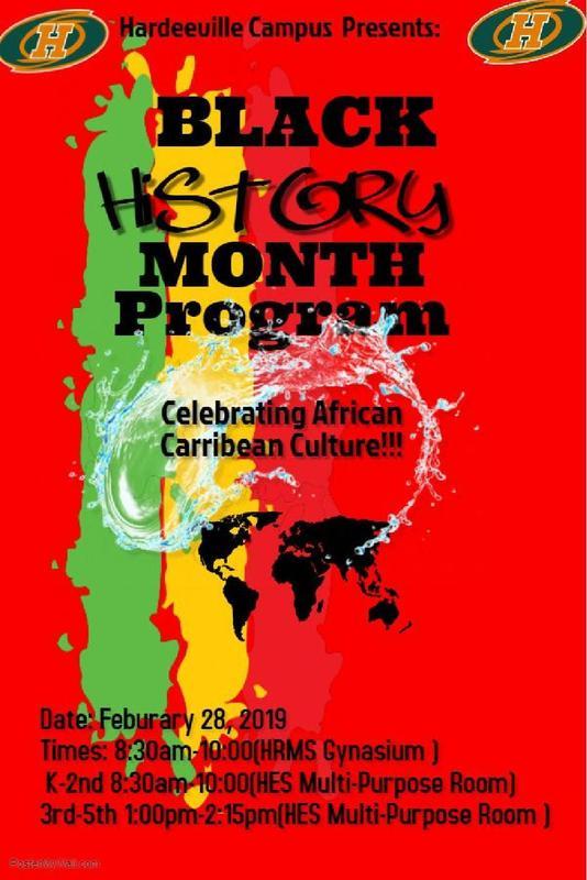 Black History Program~Programa del mes de la Historia Negra Featured Photo
